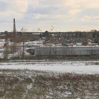 Le site de l'ancienne usine Aleris.