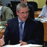 Denis Morin, ex-patron de l'escouade Marteau à la Sûreté du Québec