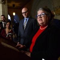 La ministre du Revenu national, Diane Lebouthillier