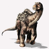 Représentation artistique du Yamanasaurus lojaensis.
