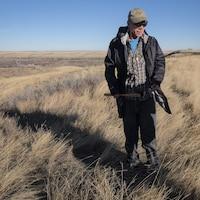 Dion Red Gun à River Ranche sur la réserve Siksika, en Alberta