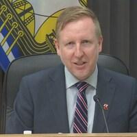 Le ministre de l'Éducation Dominic Cardy.