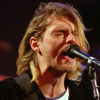Kurt Cobain en concert le 13 décembre 1993 à Seattle