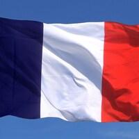 Le drapeau de la France
