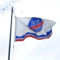 Le drapeau de la Première nation malécite de Viger.