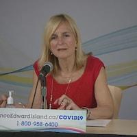 Dre Heather Morrison, médecin hygiéniste en chef de l'Île-du-Prince-Édouard.