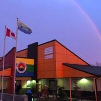 Les bureaux de la Première Nation d'Eabametoong.