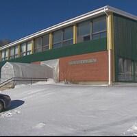 L'École Père-Duclos, à Franquelin.