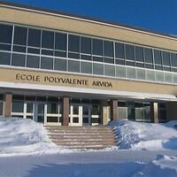 L'École polyvalente Arvida.