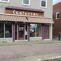 La boutique Écolovrac d'Amos