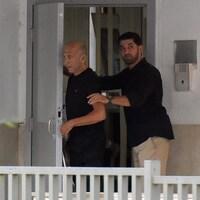 Ehoud Olmert a été condamné en 2014 pour avoir accepté des pots-de-vin touchés dans le cadre d'un projet immobilier à Jérusalem.
