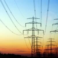 Pylônes de transport de l'électricité