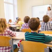 Photo d'élèves en classe.
