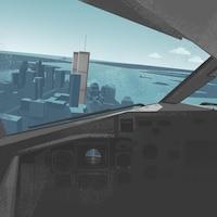 Les attaques du 11 septembre 2001 vues d'un cockpit.