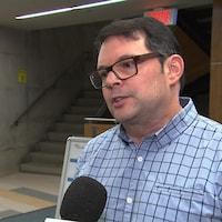 Éric Goyer, directeur de santé publique, CISSS des Laurentides.