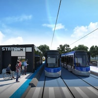 Esquisse du réseau structurant de transport en commun de la Ville de Québec
