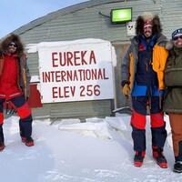 Eureka est la station météo