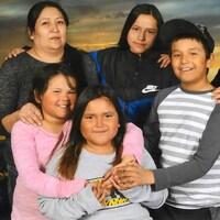 Un portrait de famille.
