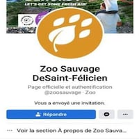 une capture d'une page facebook.