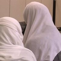 Des femmes portant le hijab.