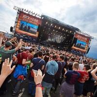 Le festival Rock am Ring à Nürburgring en Allemagne
