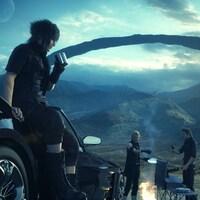 Une scène du jeu vidéo Final Fantasy XV
