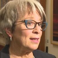 Cathy Rogers à l'Assemblée législative