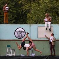 Les cinq artistes du spectacle «Six°»