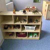 Des jeux dans une garderie.