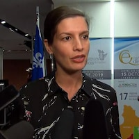 Geneviève Guilbault, vice-première ministre et ministre de la Sécurité publique.