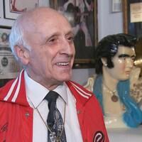 Gérard Vachon, passionné d'Elvis Presley depuis 1956