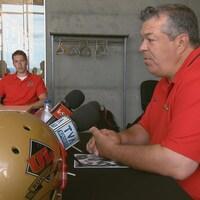 Glen Constantin, entraîneur-chef du Rouge et Or de l'Université Laval
