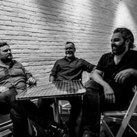 Les trois membres du collectif Grdina/ Houle/Loewen.