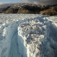 Un glacier au Groenland.