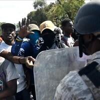 Des manifestants réclament la démission du président haïtien Jovenel Moïse