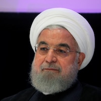 Photo du buste d'Hassan Rohani