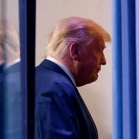 Donald Trump à la Maison-Blanche