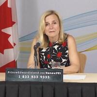 La médecin hygiéniste en chef de la province, la Dre Heather Morrison, le 22 mai 2020.
