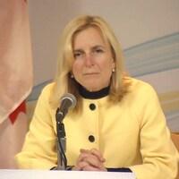 La médecin hygiéniste en chef de l'Île-du-Prince-Édouard, la Dre Heather Morrison, le 6 avril 2020.