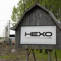 Une affiche de l'entreprise Hexo Corp.