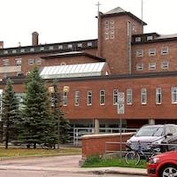 L'hôpital Le Royer de Baie-Comeau