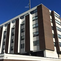 L'Hôpital de Rouyn-Noranda.
