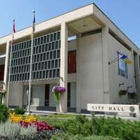 L'Hôtel de Ville de Winnipeg.