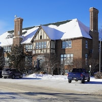 L'hôtel de ville de Kapuskasing.