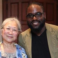 Lilly Lam et Steeve Jean-Baptiste