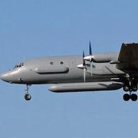 Un avion de surveillance russe Iliouchine 20.