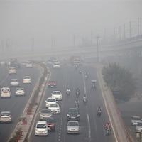 Du smog sur Delhi
