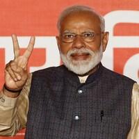 Le premier ministre indien Narendra Modi remporte la victoire aux élections et obtient un deuxième mandat.