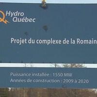 L'affiche précise que la construction doit se déroulée entre 2009 et 2020.