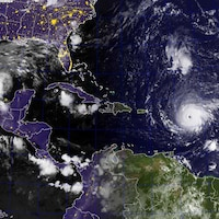 L'ouragan Irma menace bon nombre de destinations touristiques.